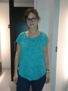 Blue shirt, H&M, € 14,95.