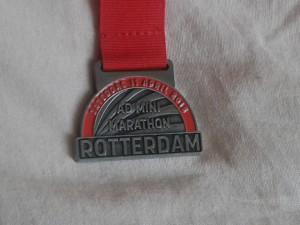 Mini Marathon Rotterdam medal