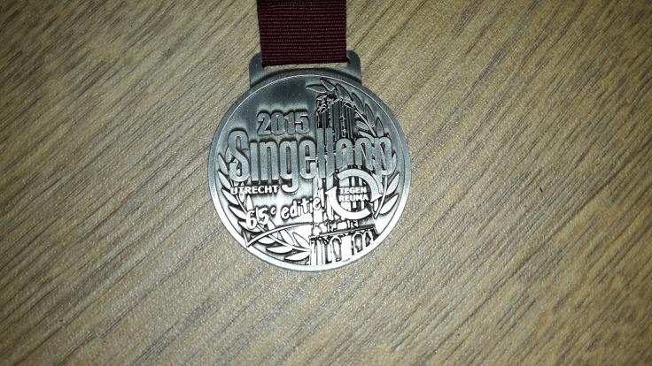 Singelloop Utrecht medal